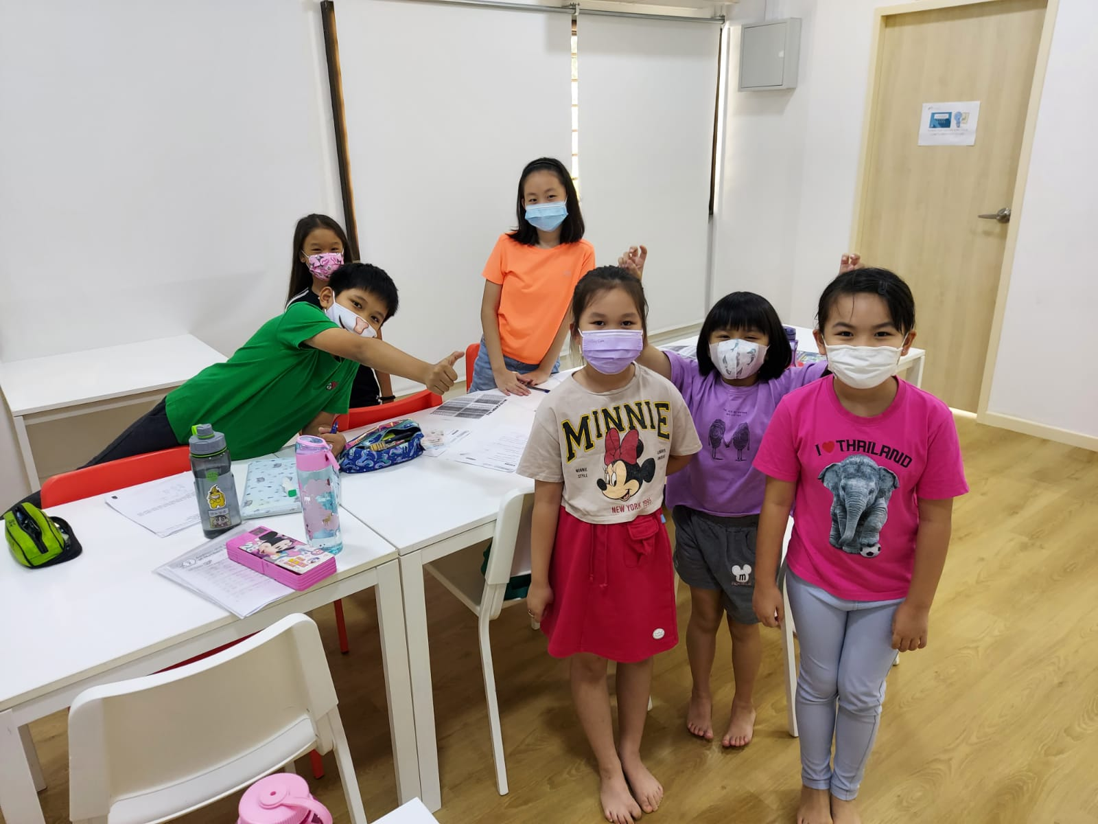 Primary School Students at our Student care centre